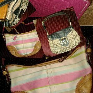 Coach purse BUNDLE...... Final